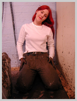 Classic Jeans, Classic Mud featuring Lady Elizabeth, the lady in waiting