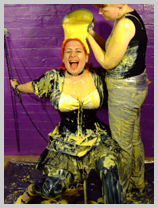 A mysterious French noblewoman brings fine wine and PVC gunge to Saturation Hall featuring Madam Brulee, French noblewoman