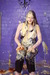 view details of set gm-2f124, Chastity in a jumpsuit, pelted with pies