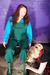 view details of set gm-2f152, Lady Amaranth's overalls filled with beans and soup
