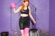 view details of set gm-2g005, Rosemary fills her workout gear with goo