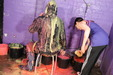 view details of set gm-2g038, Friday has her rainsuit gunged then cut off by Felicity