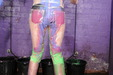 view details of set gm-2g043, Moto clear plastic jeans from Top Shop get filled with colourful goo!
