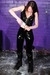 view details of set gm-2q013, Chastity fills and covers her all-PVC outfit in lots of milk