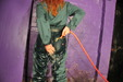 view details of set gm-2q029, Bonus scene: Rosemary hosed in a green boilersuit and wellies