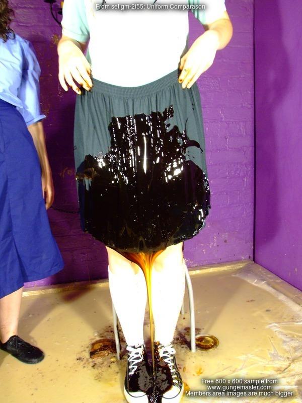 Very messy custard filled heels - 3 6
