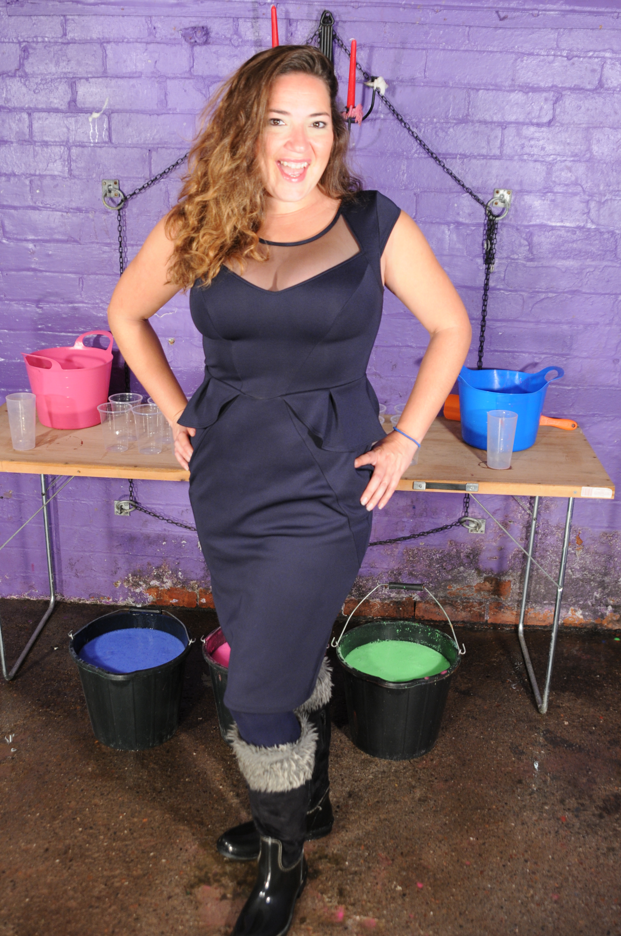 Maria And Honeysuckle In Gunge Dresses Clothes Filling